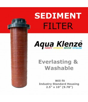 Longlasting & Washable 25 Micron Sediment Disc Water Filter AquaKlenzeDSC25HDirect Water Filters