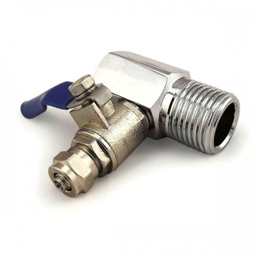 """1/2"""" Feed Water Connector and 1/4"""" Pushfit Filter Connector Valve"""