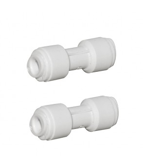 2x 1/4 Pushfit x 1/4 Push Fit Straight Connectors AccessoriesHBQA-006A