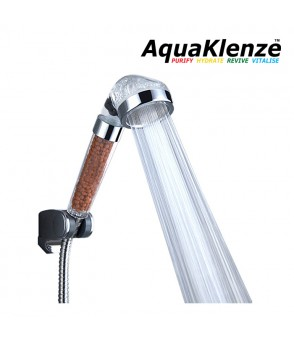 AquaKlenze Mineral Spa Shower Head Water Filter BathroomMSHFDirect Water Filters