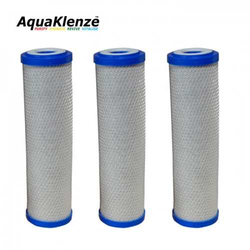 Carbon Block Filter For Reverse Osmosis Systems x3