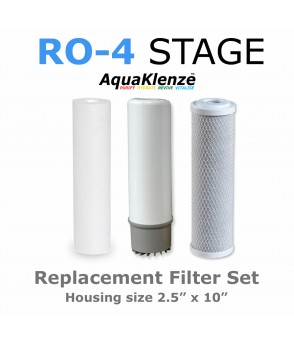 4 Stage Reverse Osmosis Filter Pack Reverse Osmosis FiltersRO-3PACKDirect Water Filters