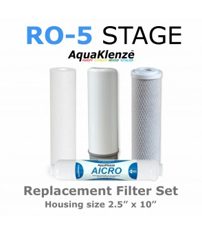 5 Stage Reverse Osmosis Filter Pack Reverse Osmosis FiltersRO-4PACKDirect Water Filters