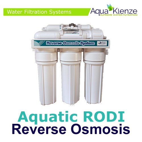 Aquatic Reverse Osmosis (RO) System Unit With DI Resin 75/200 GPD