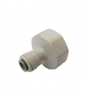 1/4 Inch Push Fit x 3/4 Inch BSP Tap Connector AccessoriesHBQA-026B