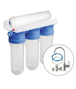 Ultra Filtration Limescale & Chlorine Removal Deluxe Water Filtration System