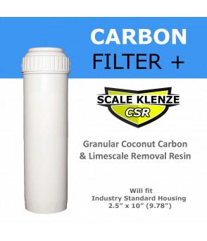 Chlorine and Limescale Reduction Water Filter Cartridge Standard Water Filters