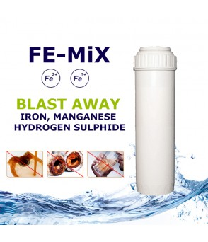 FE-MiX Iron, Manganese & Hydrogen Sulfide Removal  Filter Cartridge