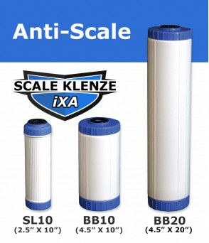 iXA Anti Scale Inhibitor Cartridge Standard Water FiltersiXADirect Water Filters