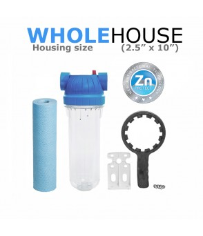 Whole House Water Filtration System  Whole House SL10-CB5S-KITEcoCeram