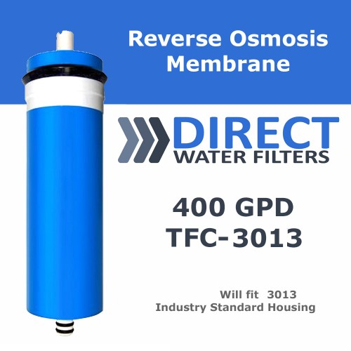 400 GPD Reverse Osmosis RO Membrane for 3013 Housing