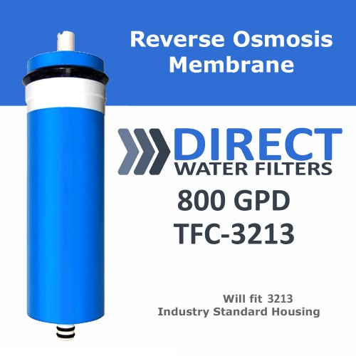 800 GPD Reverse Osmosis RO Membrane for 3213 Housing