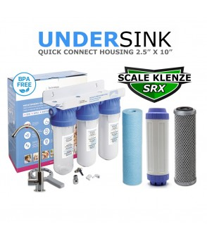 Limescale Control & Ultra Filtration Triple Deluxe Water Filtration System Bad Taste & OdoursSL10-1ABSED-SRX-UFCCBDirect Water Filters