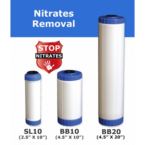 Nitrates Removal Water Filter Cartridge