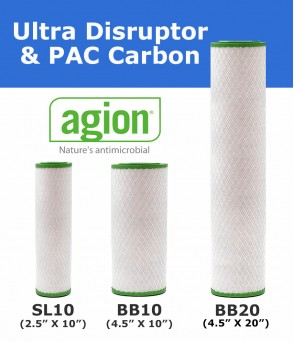 Ultra Disruptor PAC + Replacement Filter Cartridge  Standard Water FiltersUDPACEcoCeram