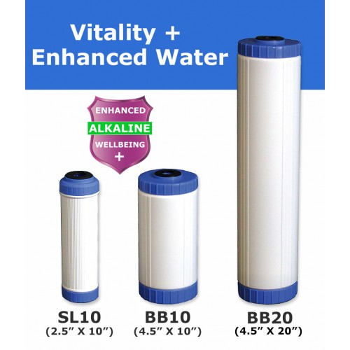 Vitality + Alkaline Mineral Water Filter Cartridge