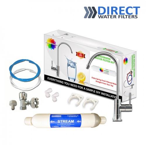 STREAM Inline Water Filter Kit